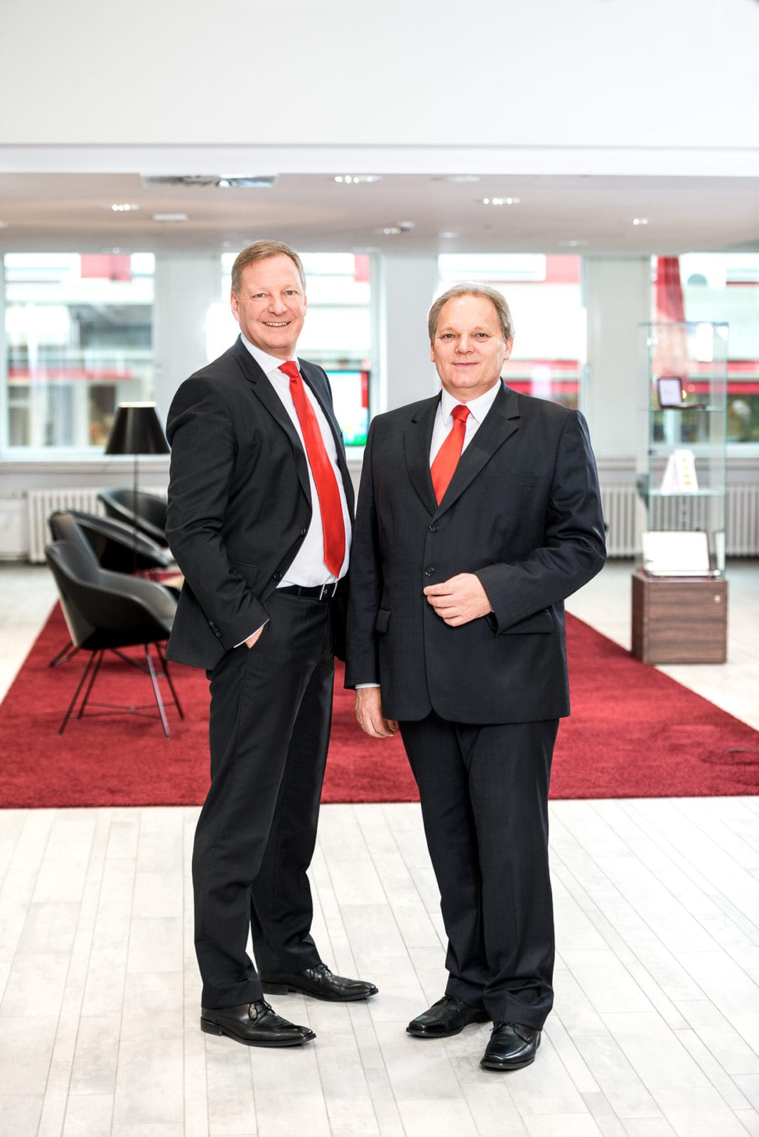Fotografie für den Geschäftsbericht der Sparkasse Schwerte - Portrait des Vorstands - Annual Report für die Werbeagentur Canvas / Welver / Sauerland