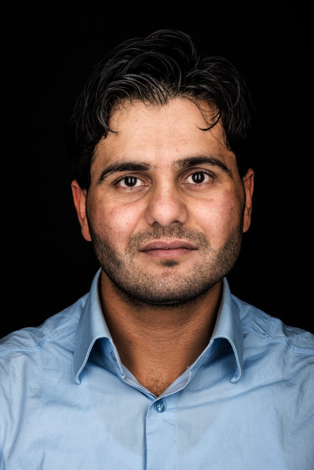Portraits von Flüchtlingen /// REFUGEES - Markus Mielek, Fotograf Dortmund,