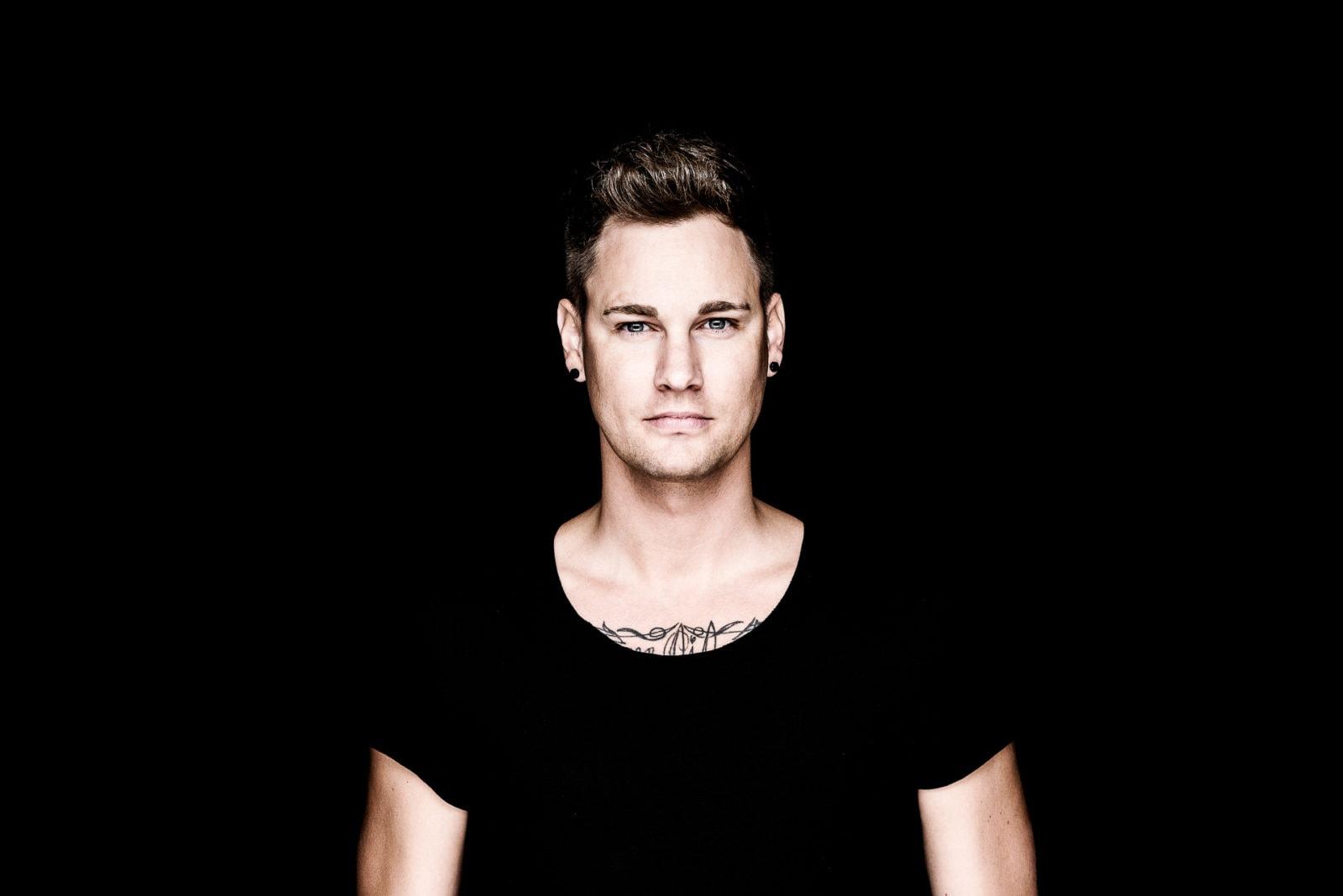 Studioshooting Inszenerierung Werbung Cover für den DJ Philippe Lemot im Studio Dortmund