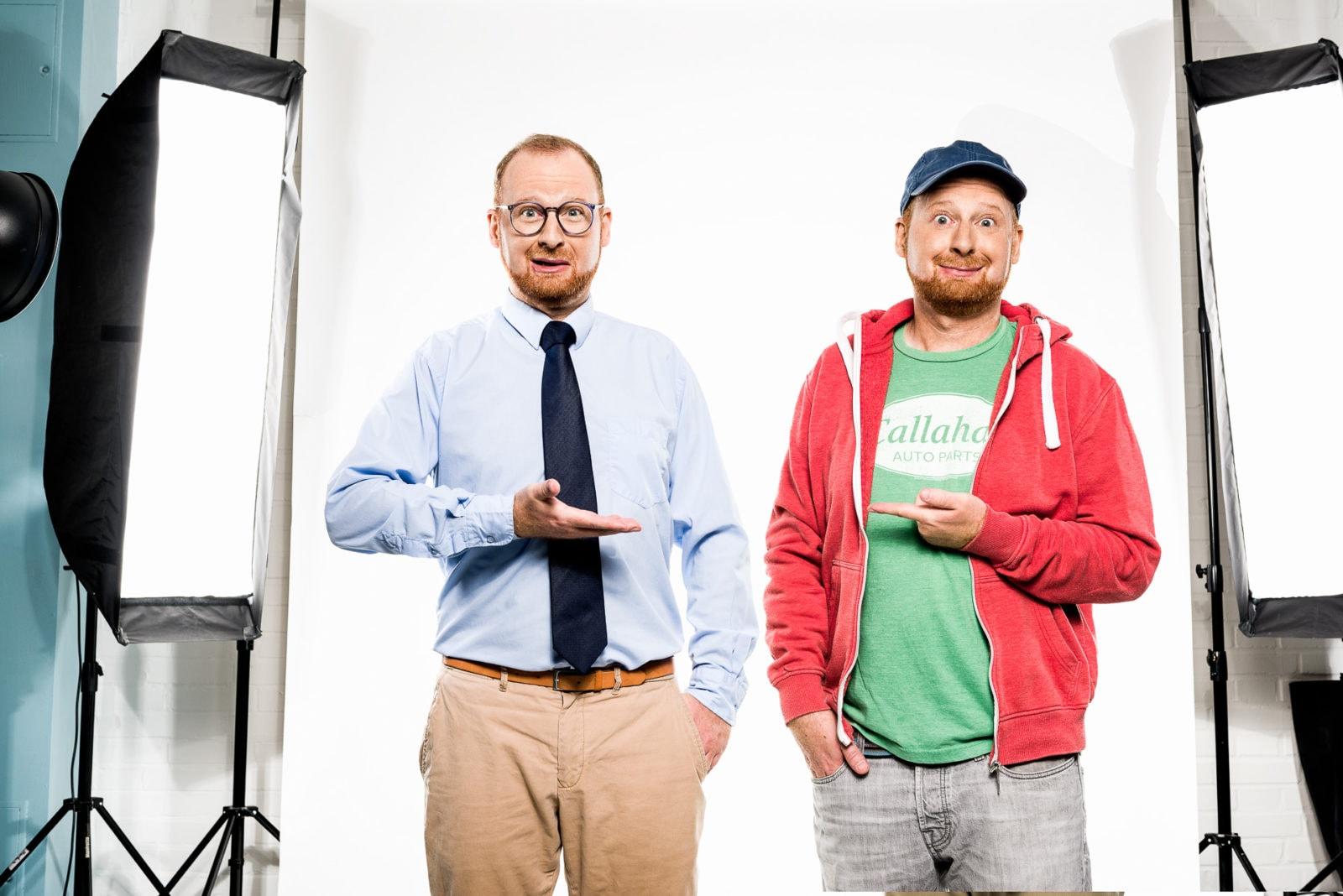 Studioinszenierung mit YouTuber Doktor Allwissend für YouTube Deutschland in Köln