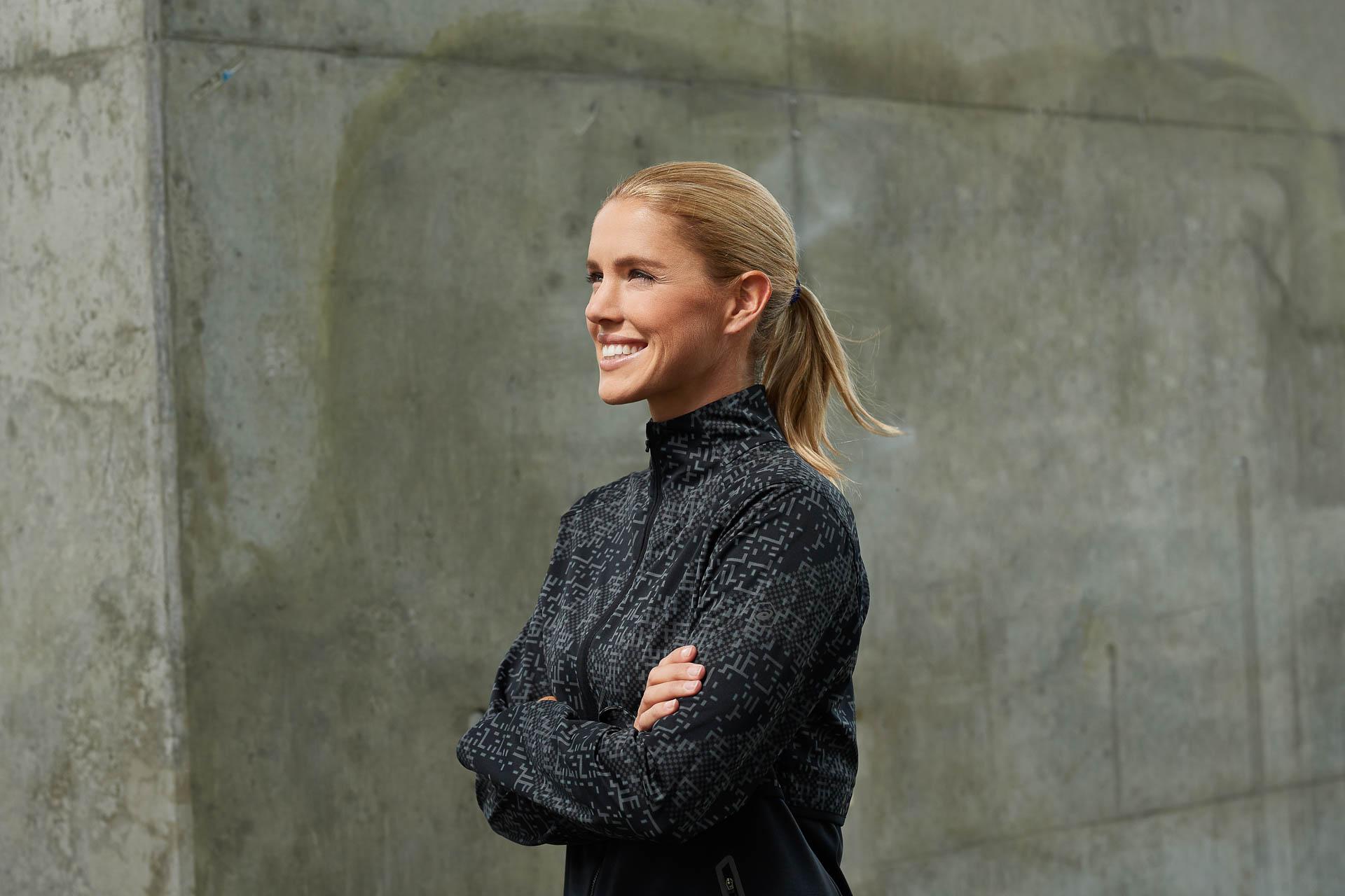 Mielek fotografiert in Dortmund mit Model für Werbung