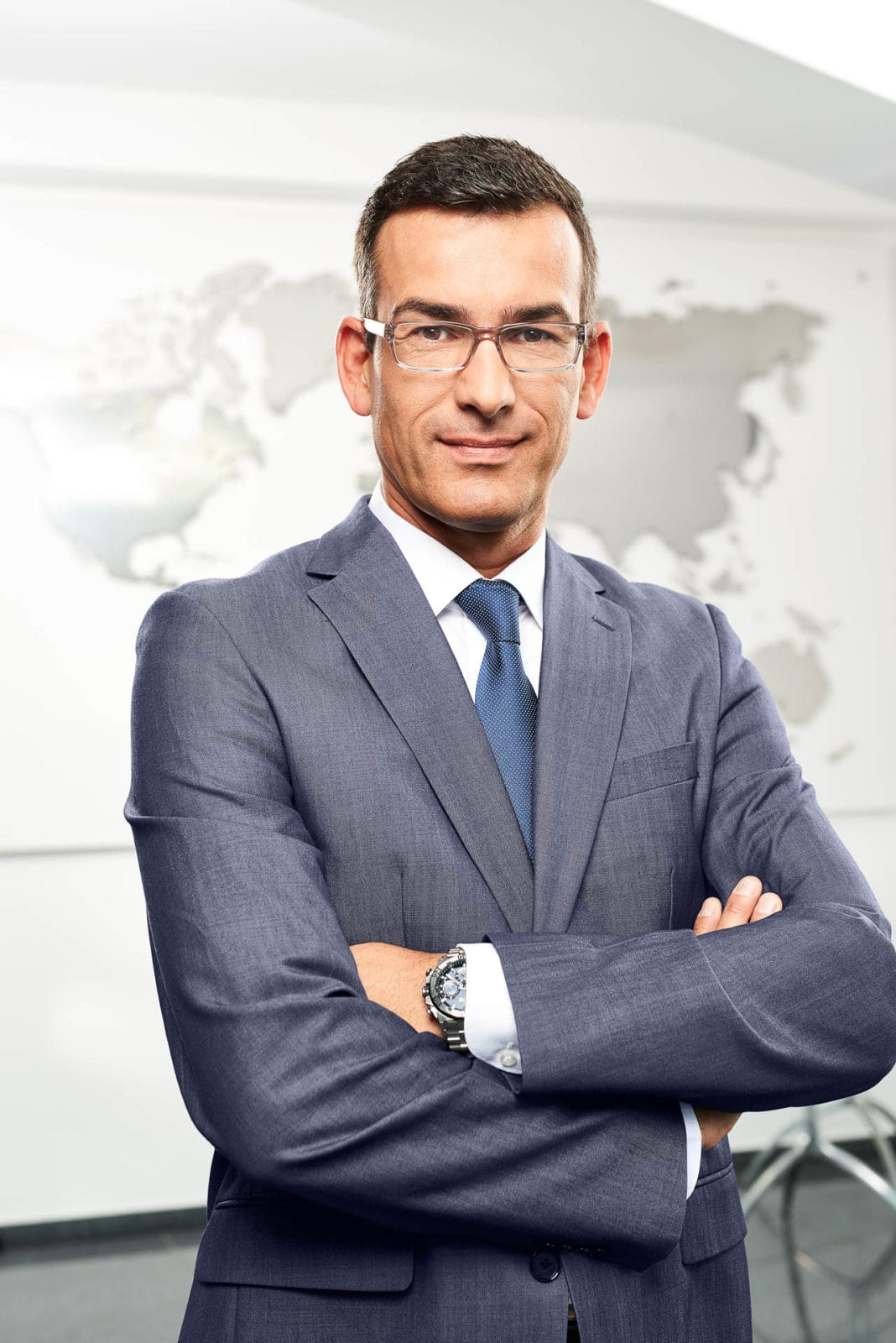 Headshot Corporate Portrait für den Kunden HARPEN IMMOBILIEN in Dortmund