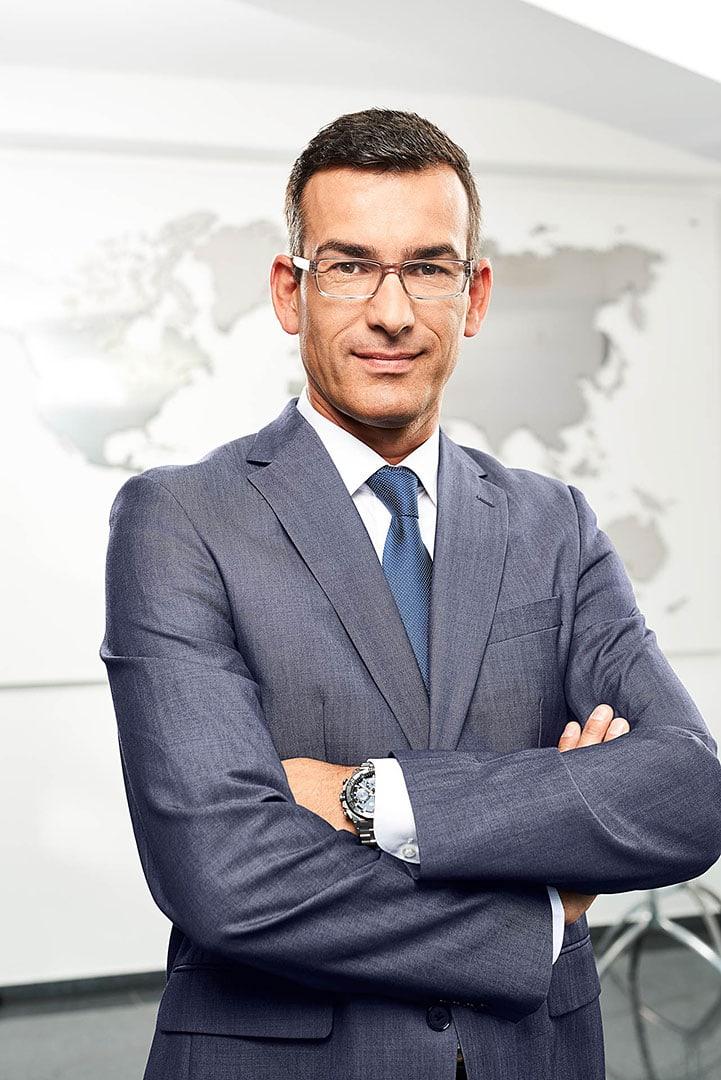 Headshot Corporate Portrait für den Kunden HARPEN IMMOBILIEN in Dortmund