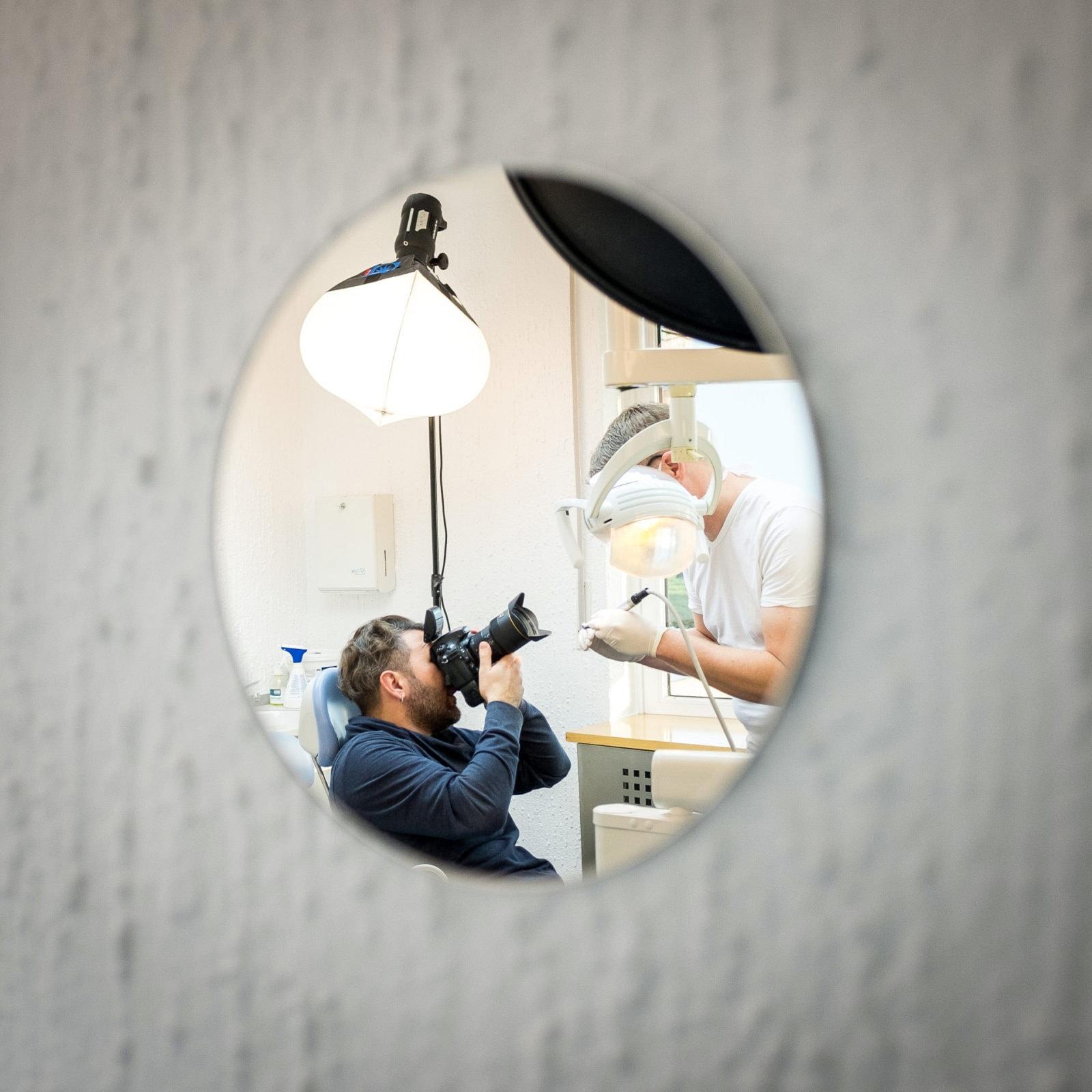 PR Shooting Zahnarzt BIG Krankenkasse