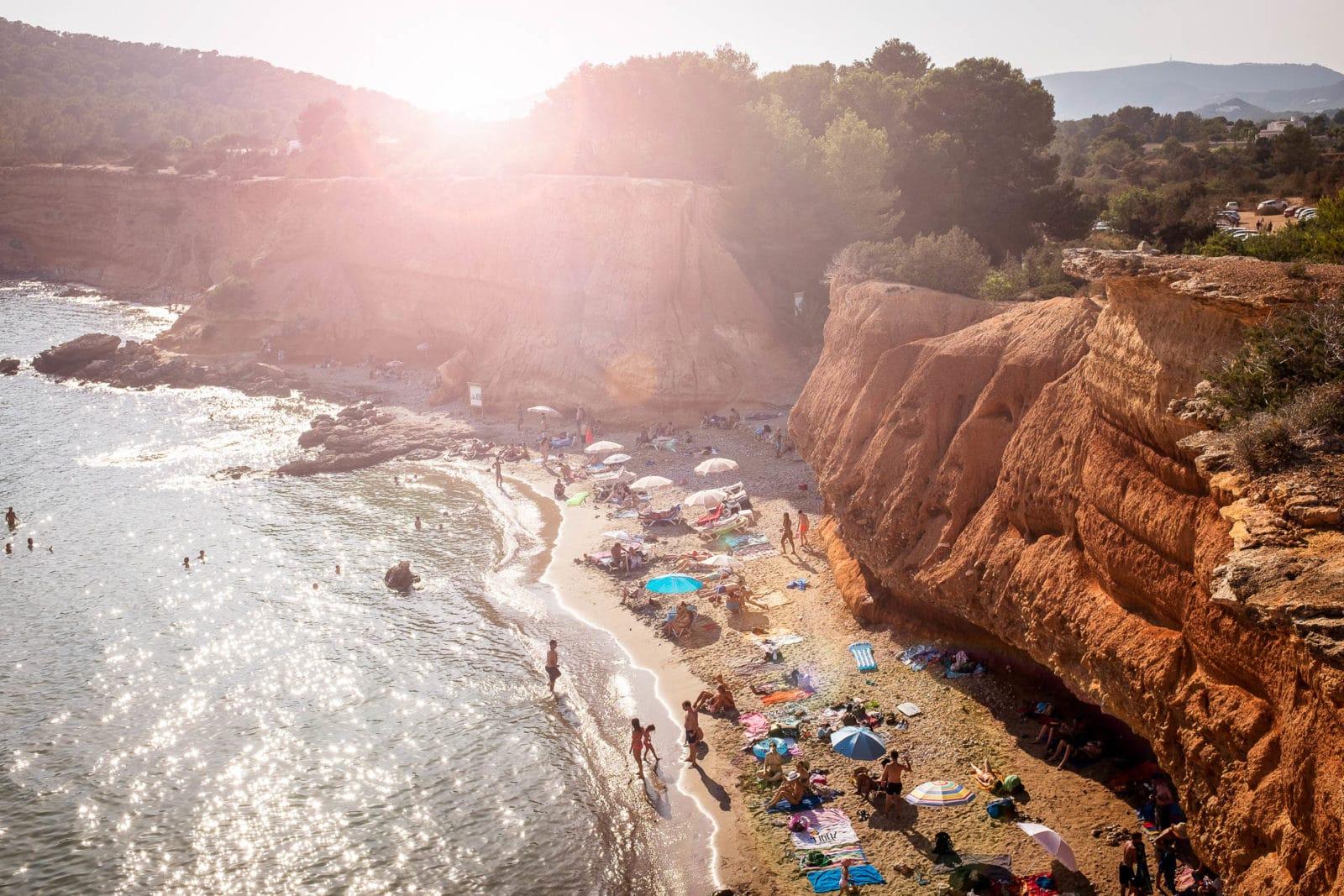 Strand Ibiza Sommer Panorama