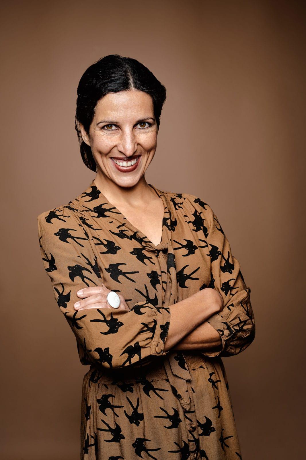 Auftragsfotografie Sedcard für Schauspielerin und Model - Studioportrait
