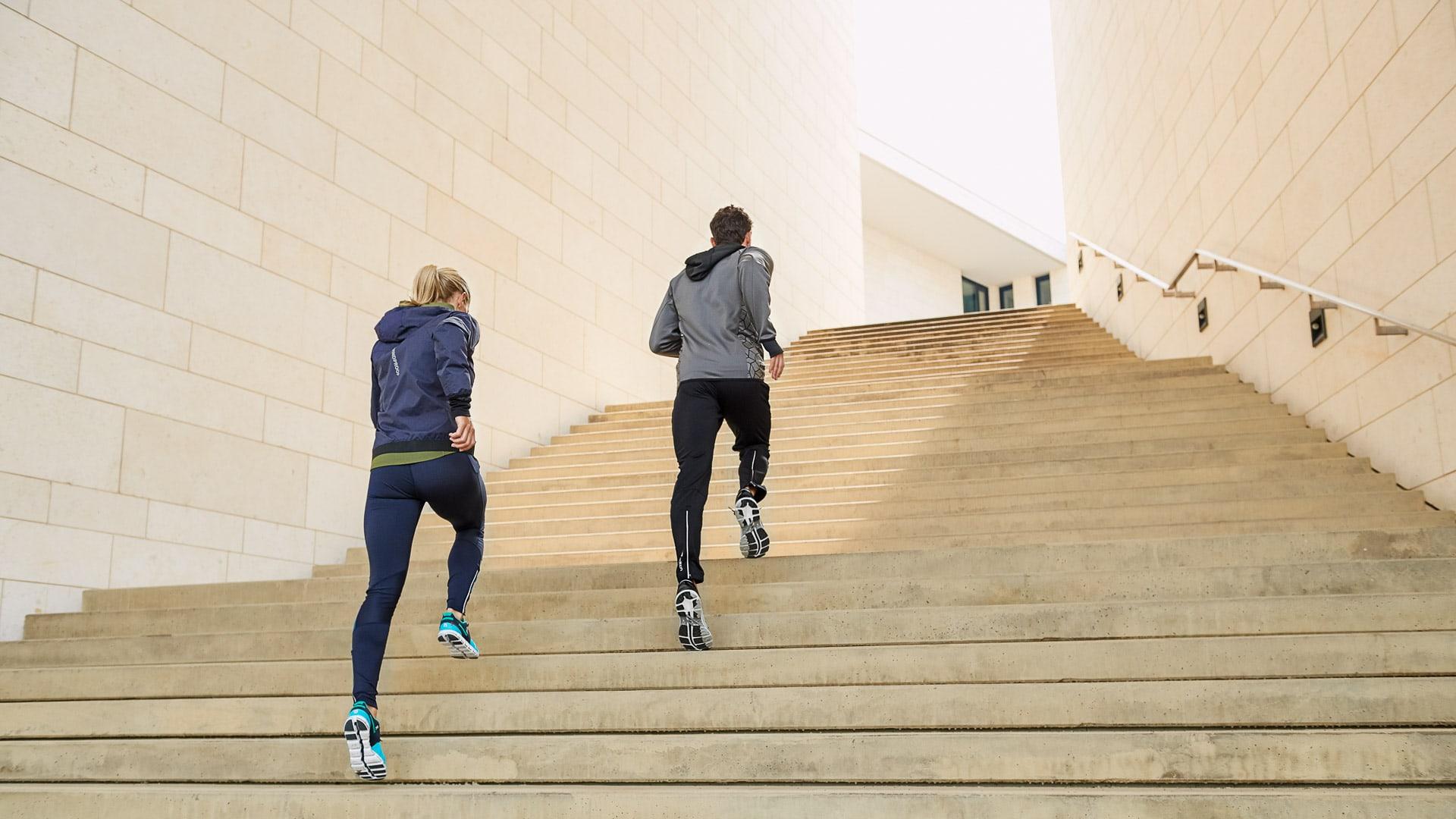 Werbekampagne und PR-Shots für Runners Point on Location in Dortmund