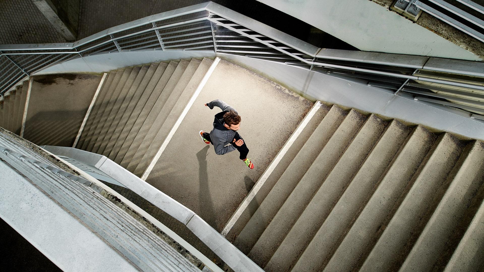 Werbefotograf Markus Mielek aus Dortmund inszeniert Sportler für Runners Point