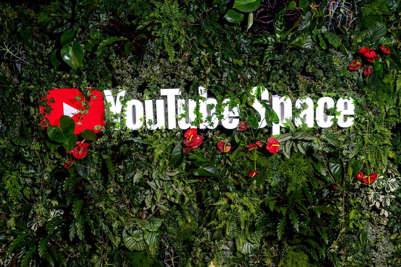 Foto vom Logo YouTube Space