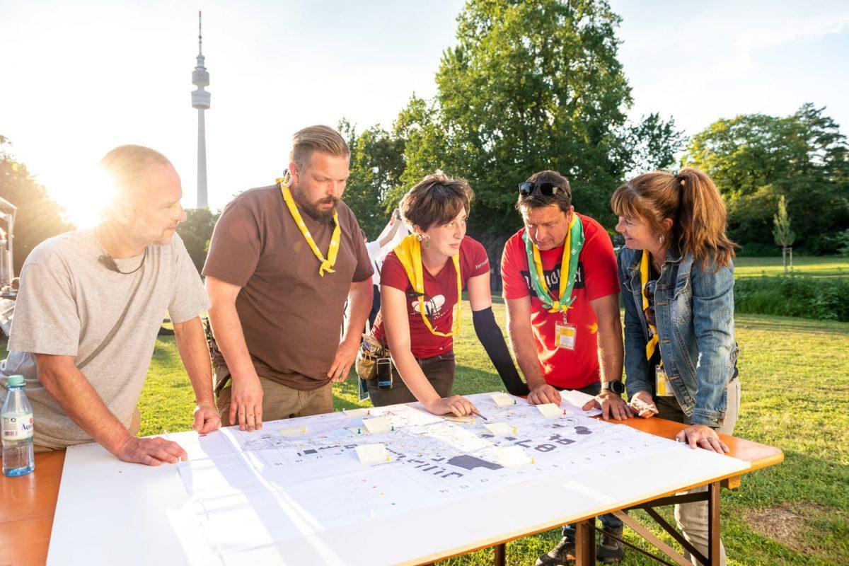 Reportage über die Hilfskräfte auf dem Kirchentag von Fotograf Markus Mielek