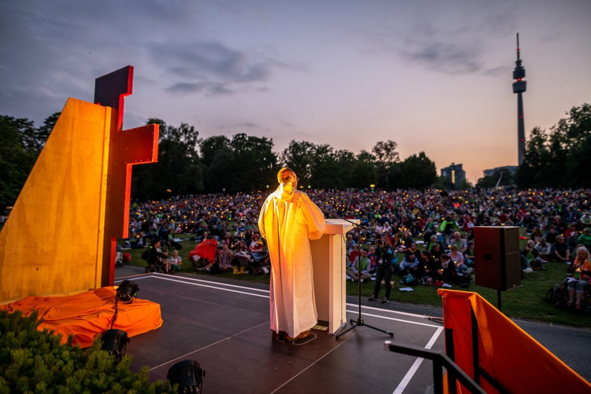 Gottesdienst im Westfalenpark Dortmund