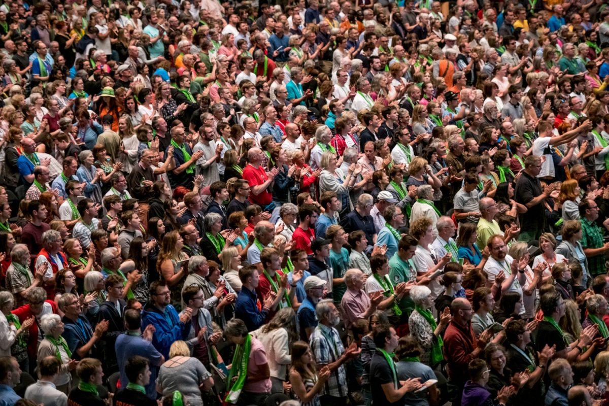 Eventfotografie von Markus Mielek auf dem Kirchentag