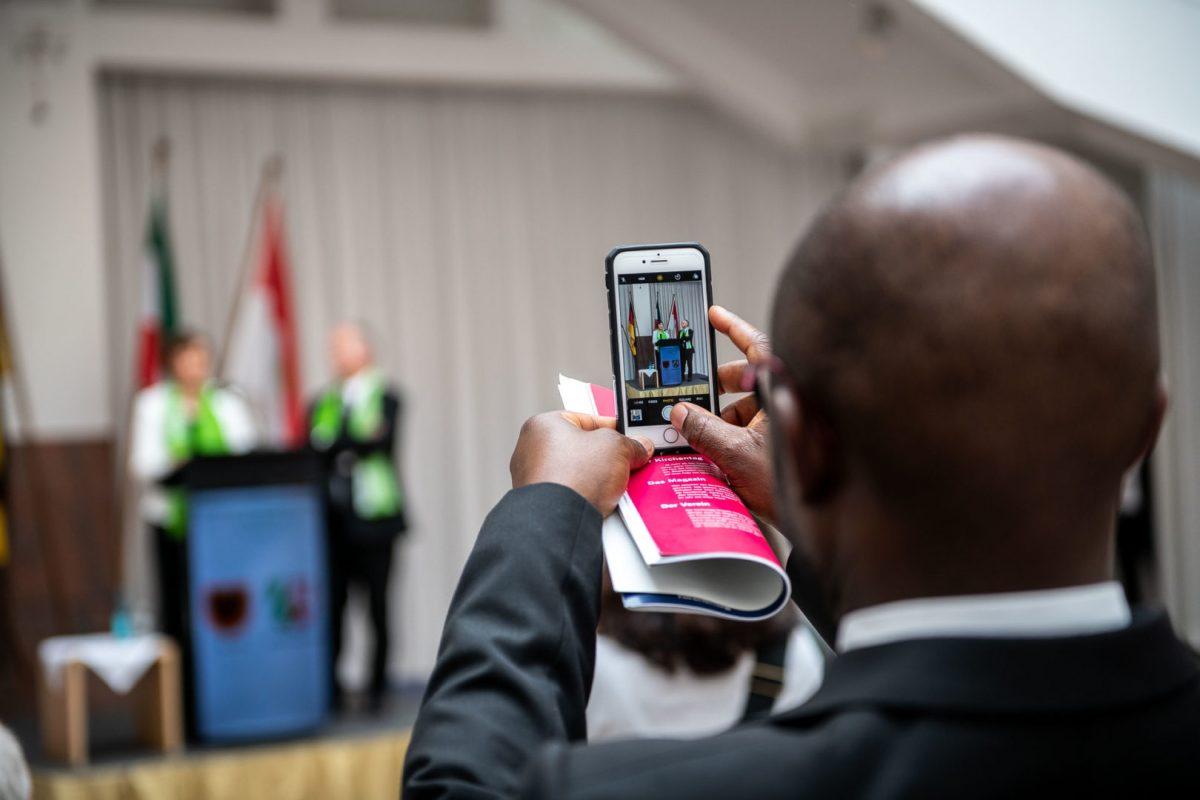 Veranstaltungsfotografie für den Kirchentag im Rathaus Dortmund