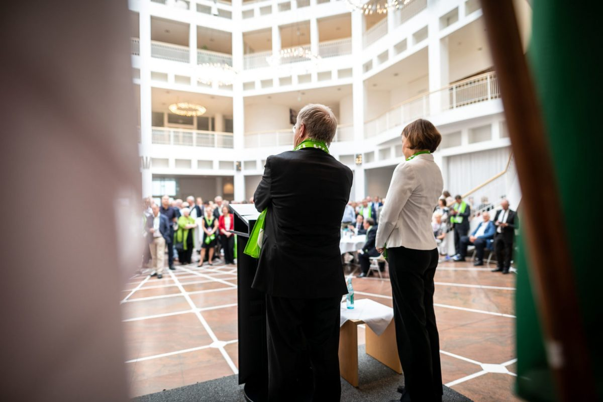 Festakt im Rathaus zu Dortmund, festgehalten von Fotograf Markus Mielek