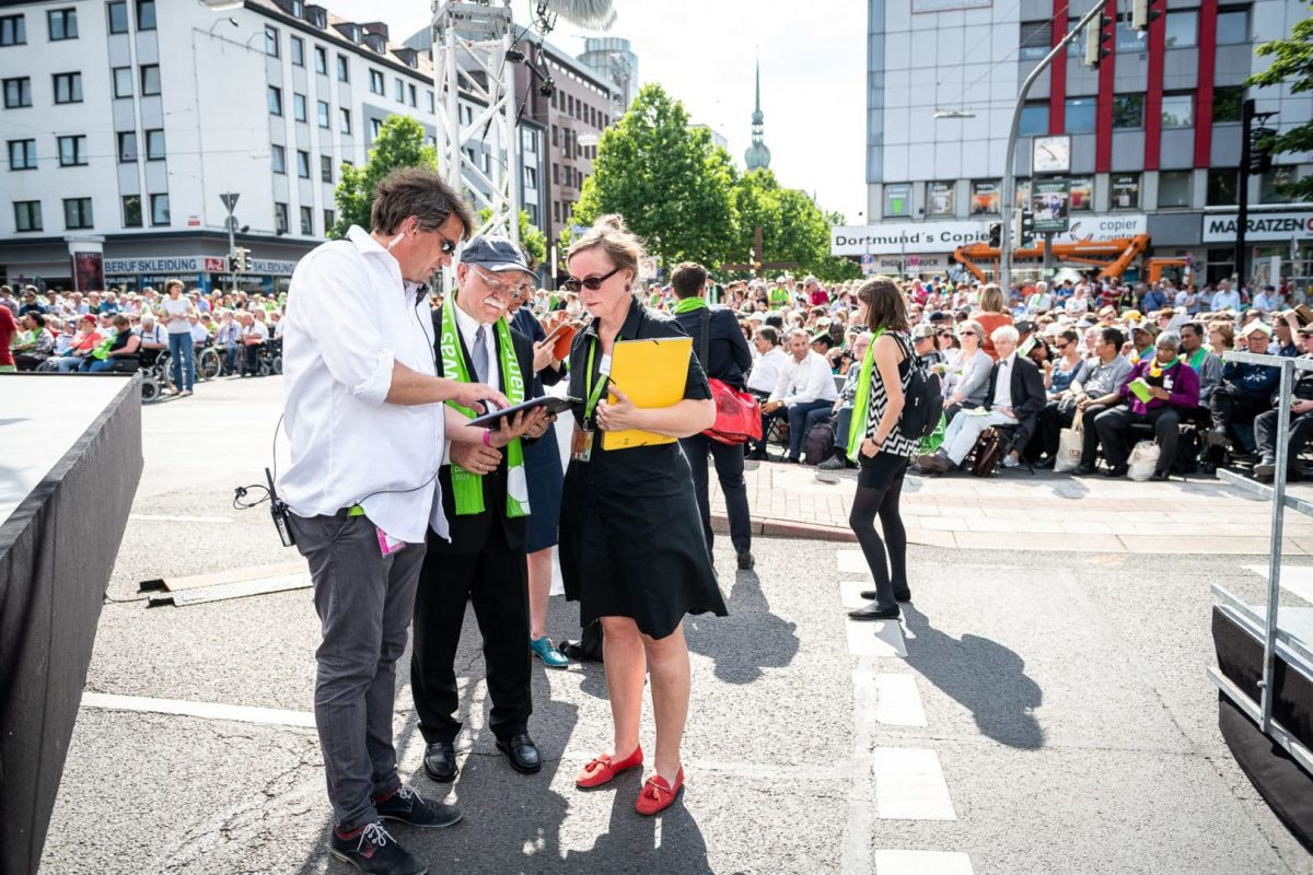 Bildreportage für den Kirchentag in Dortmund