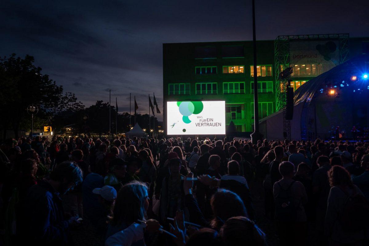 Werbeaufnahme für den Kirchentag in Dortmund von Werbefotograf Markus Mielek