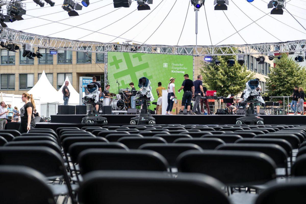 Große Bühne für den Kirchentag in Dortmund