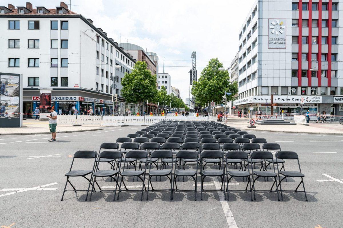 Ostwall Dortmund Sommer 2019